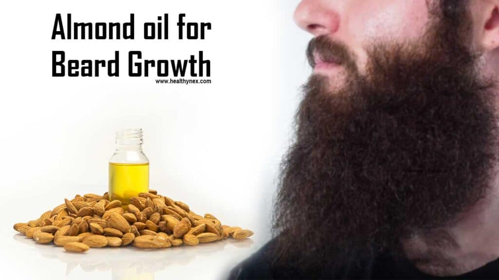 almond-oil-for-beard-growth