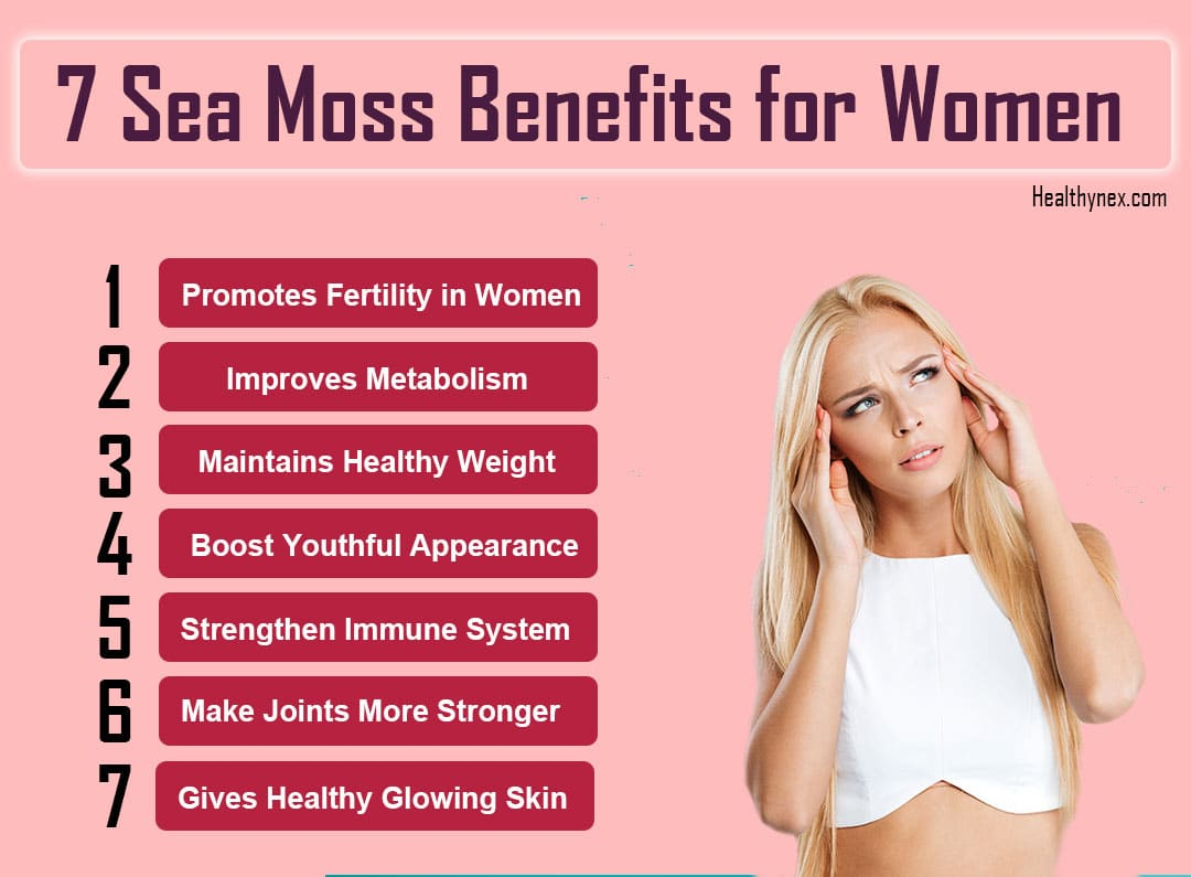 Sea Moss Benefits for Women